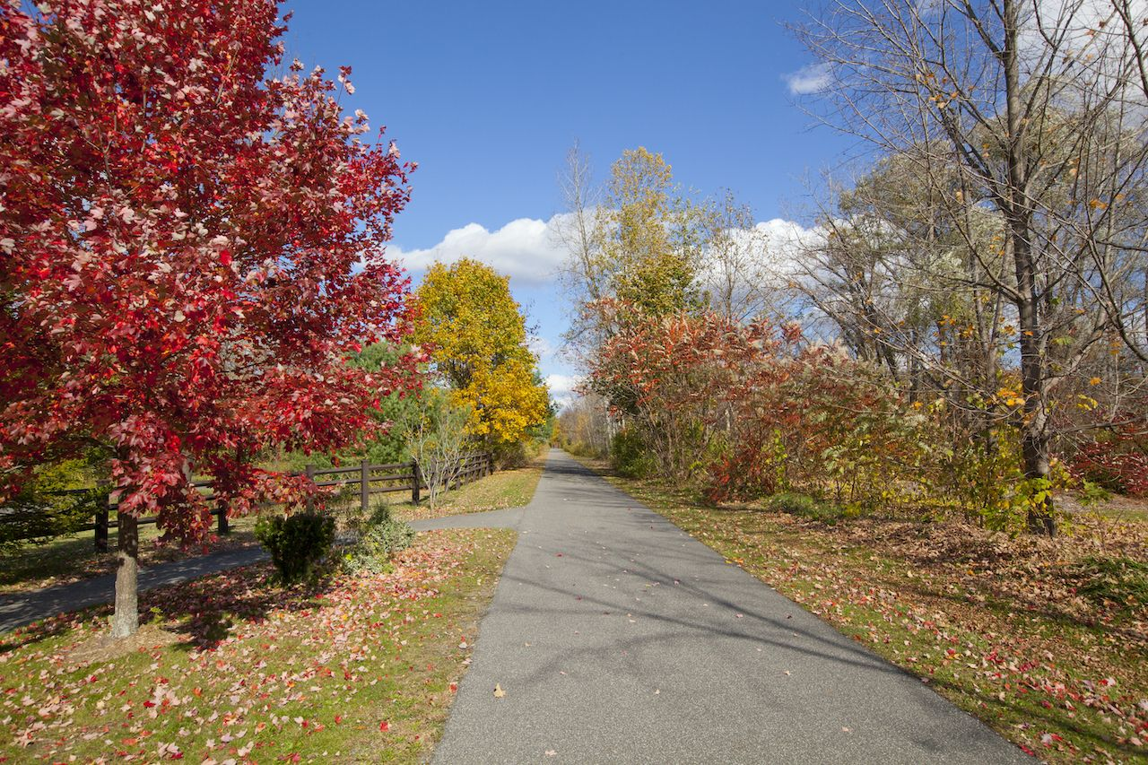 The,Ashuwillticook,Rail,Trail,In,The,Berkshires,,Of,Western,Massachusetts