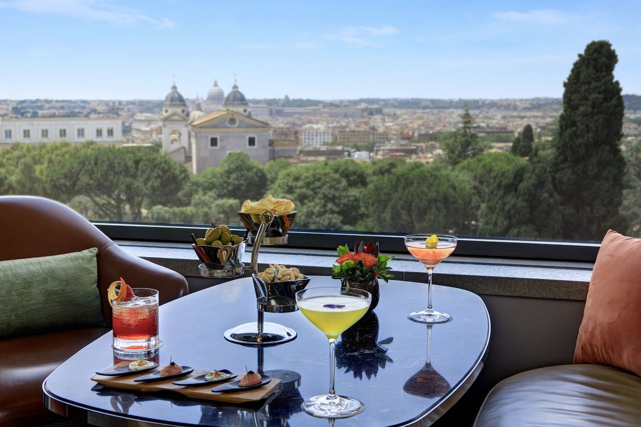 8 luxury hotel bars in Rome where you can sip in opulence