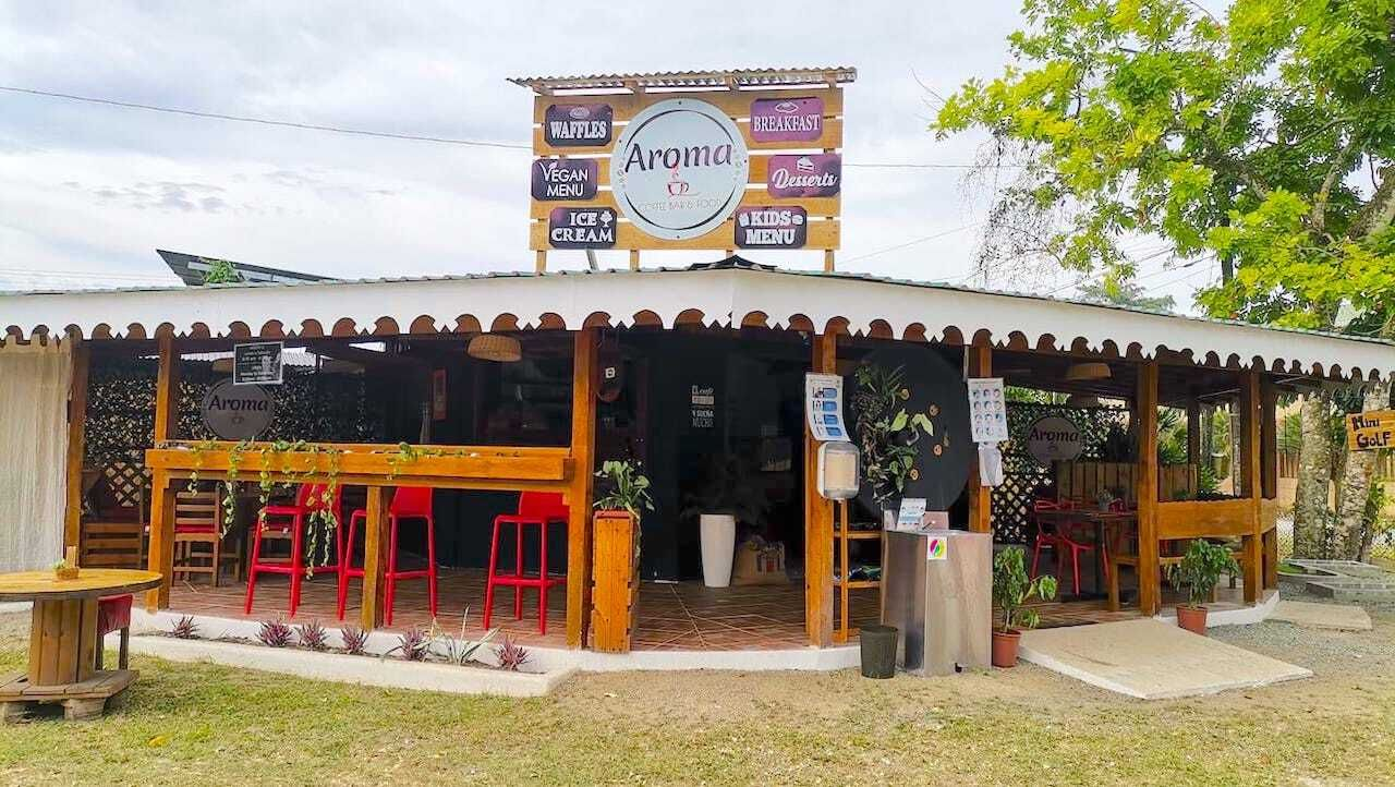 cahuita costa rica, aroma coffee bar