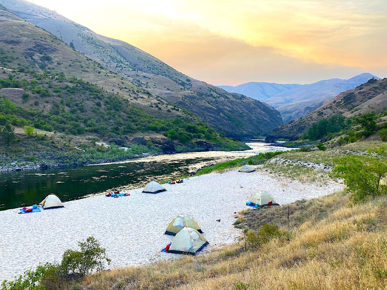 camp-lower-salmon-river