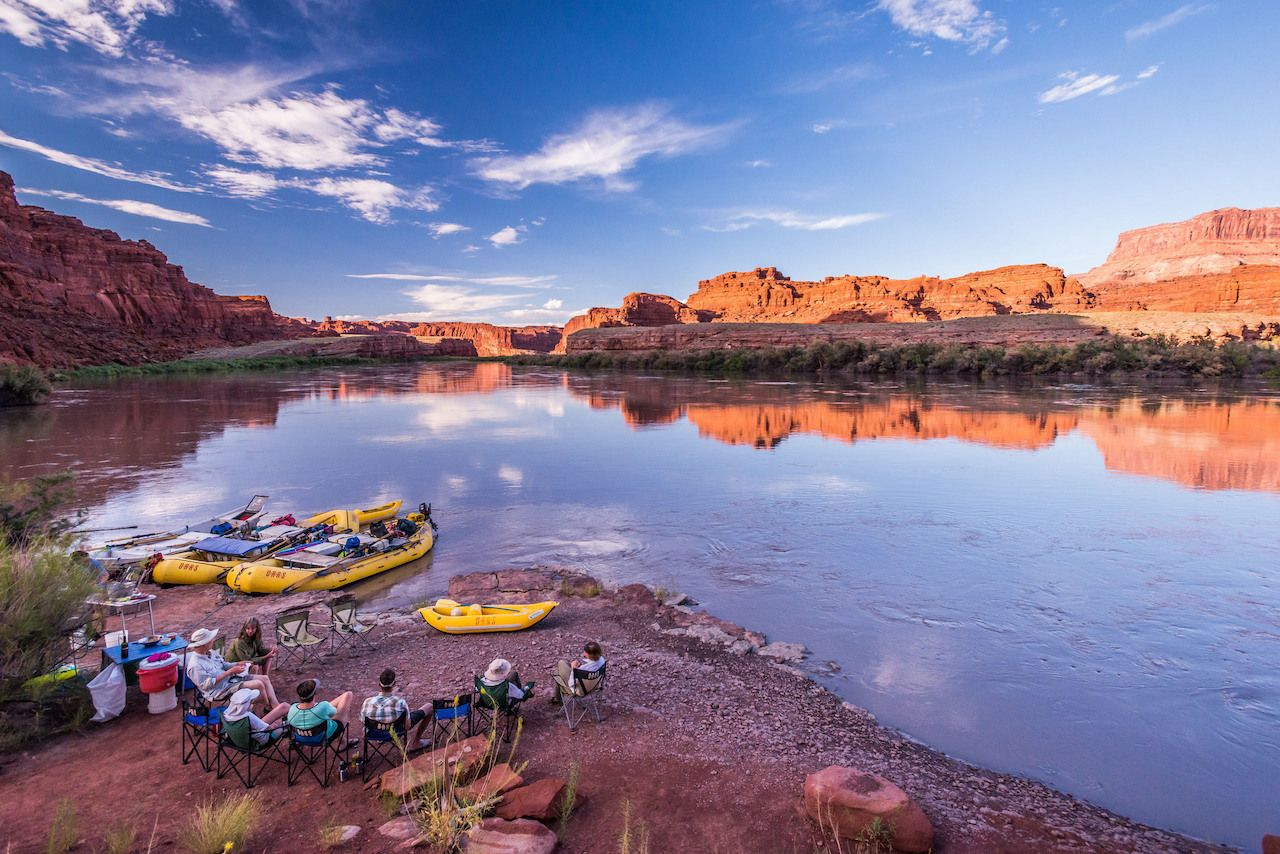 Rafting Utah's winding, crimson Cataract Canyon is the trip of a lifetime
