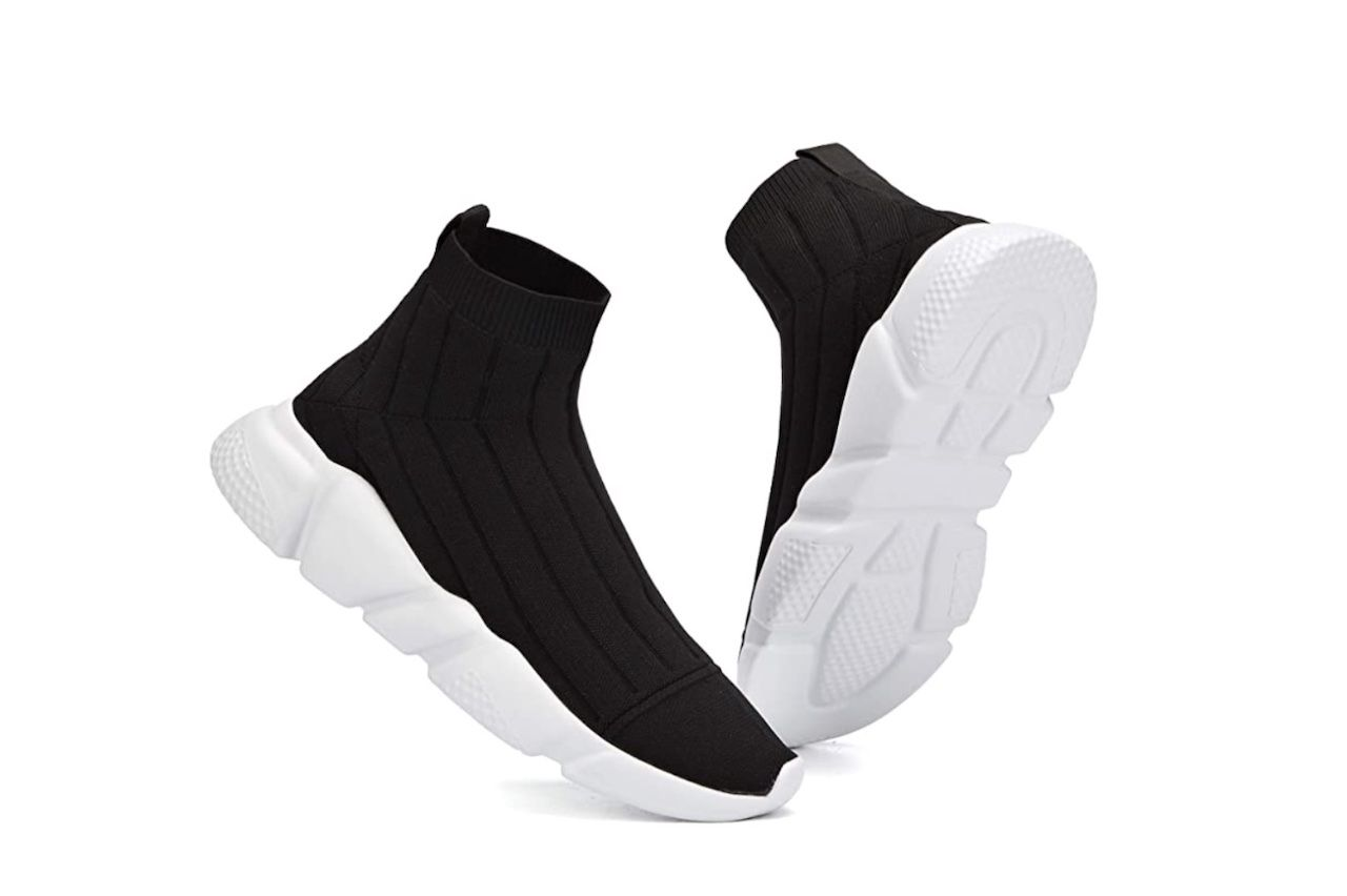 comfortable travel clothes Men Casbeam knit running shoes