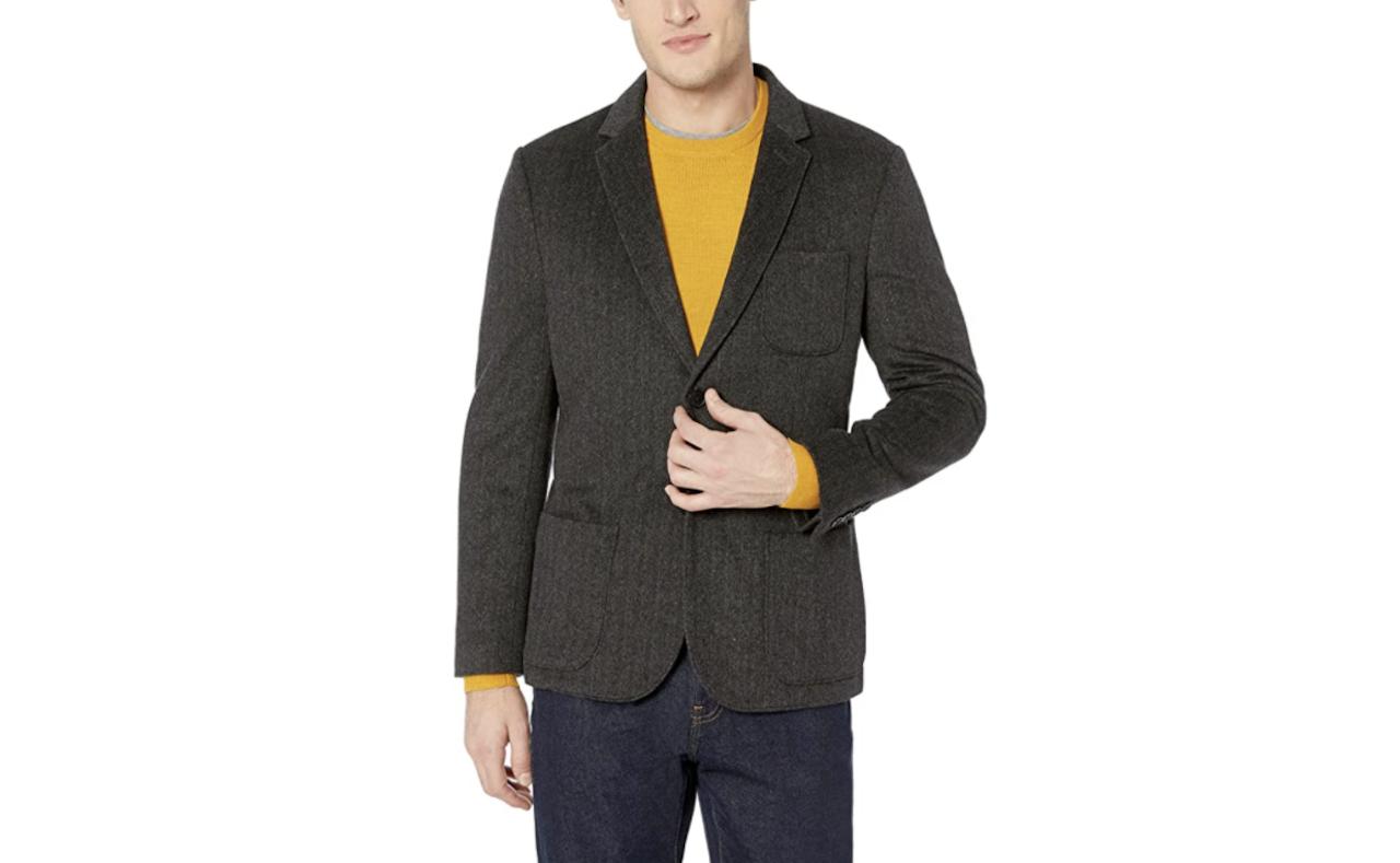 comfortable travel clothes Men Goodthreads blazer