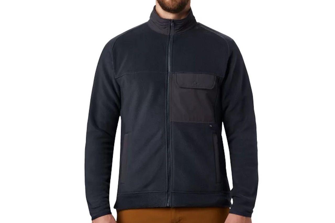 comfortable travel clothes Men UnClassic fleece jacket