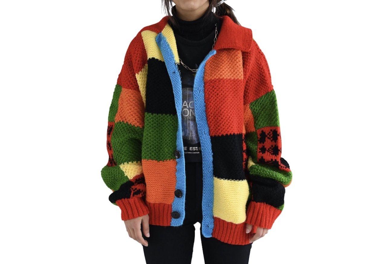 comfortable travel clothes Unisex Vorondolo knitting cardigan