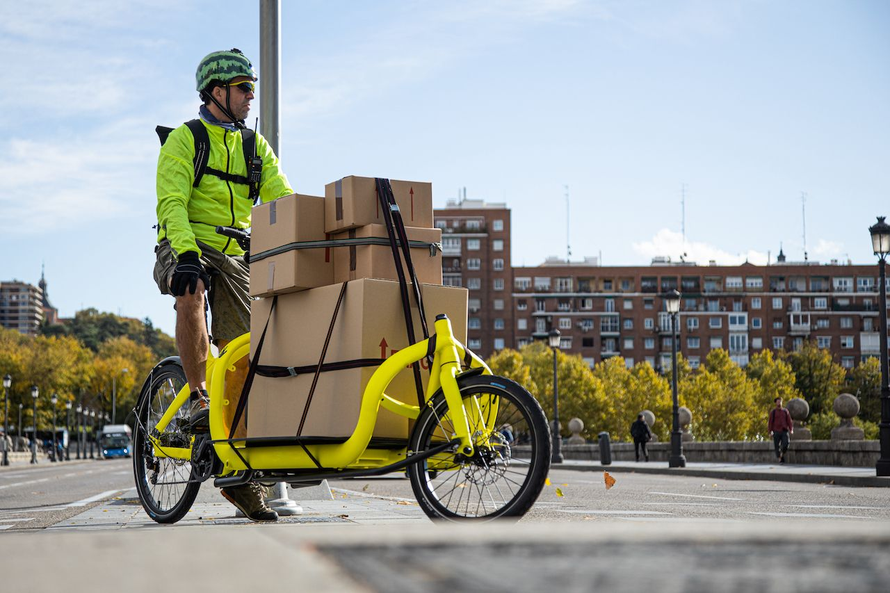 E-cargo bikes could make urban transit more efficient and eco-friendly