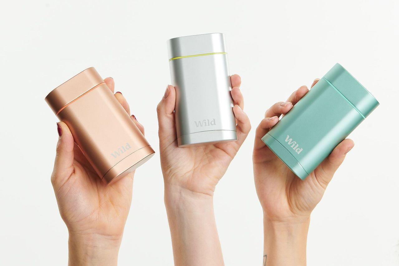 eco friendly toiletries Wild Deodorant