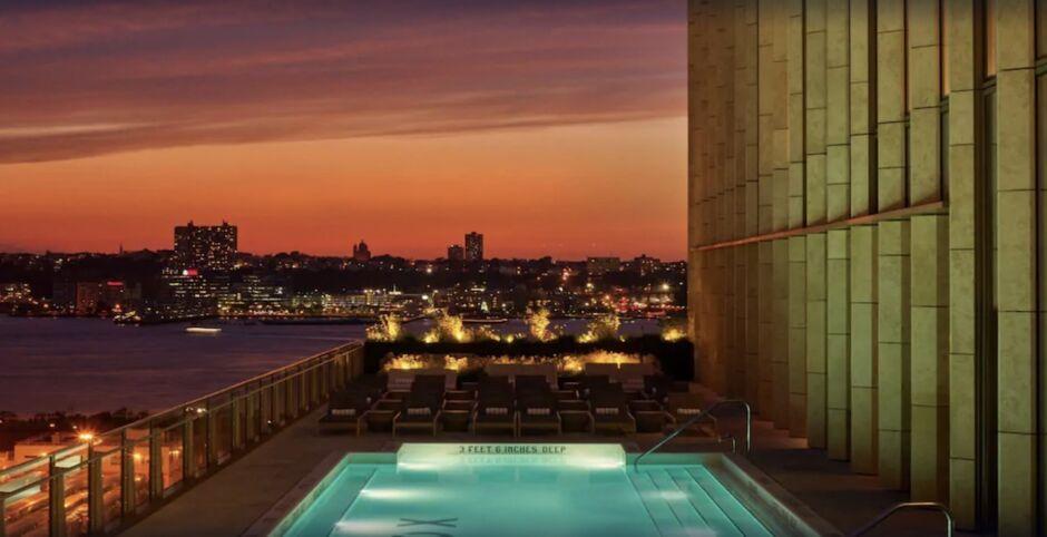 equinox hotel nyc hotels with skyline views