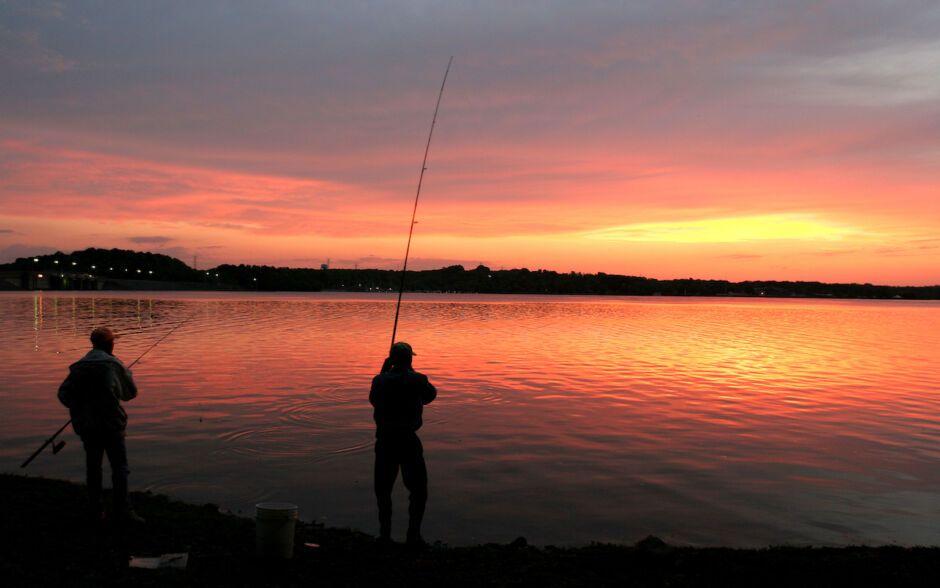 fishing percy priest lake outdoor activities in nashville