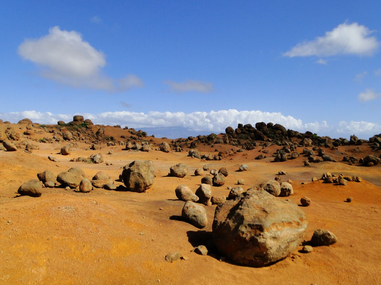 Keahiakawelo or the Garden of the Gods on a beautiful day., Lanai by Jeep