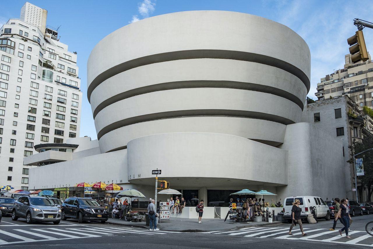 New,York,,Usa,-,Oct,6,,2017:,Solomon,R.,Guggenheim
