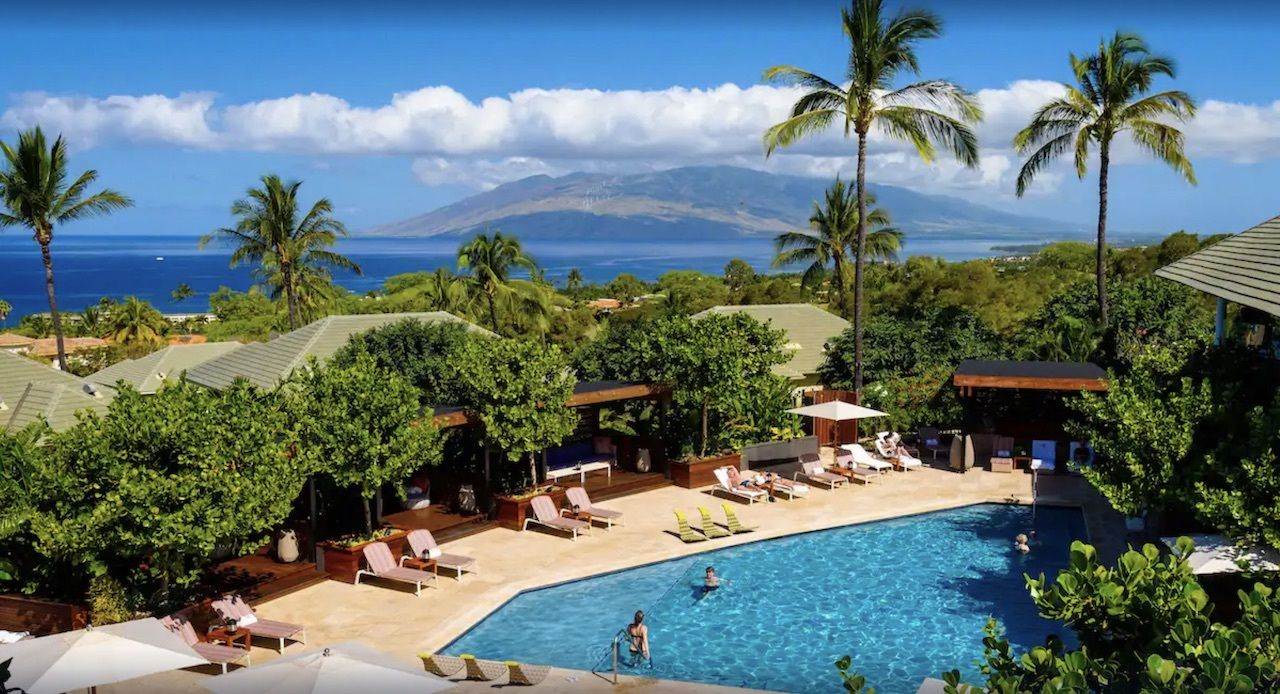 Boutique hotels in Maui, Hotel Wailea
