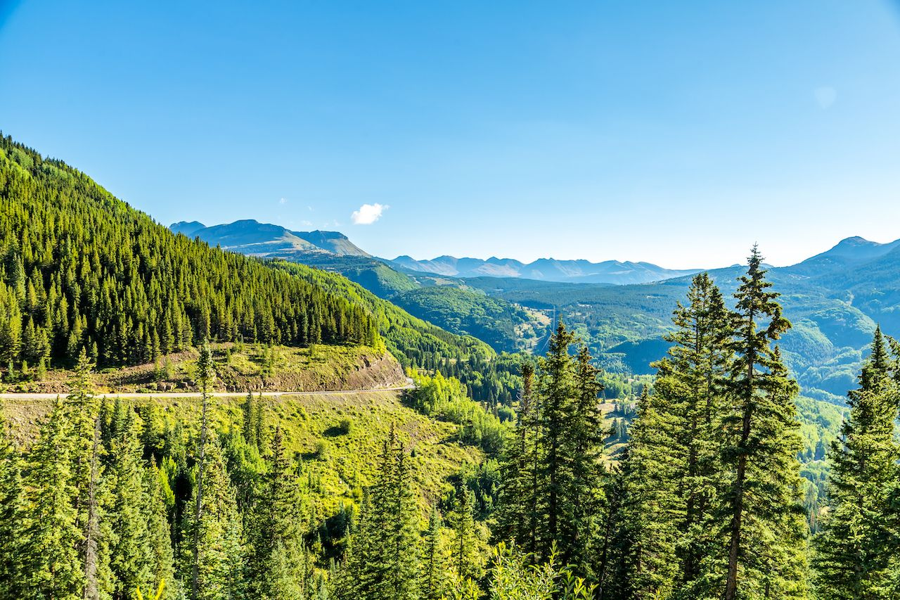 The Million Dollar Highway is Colorado's ultimate road trip through the Old West