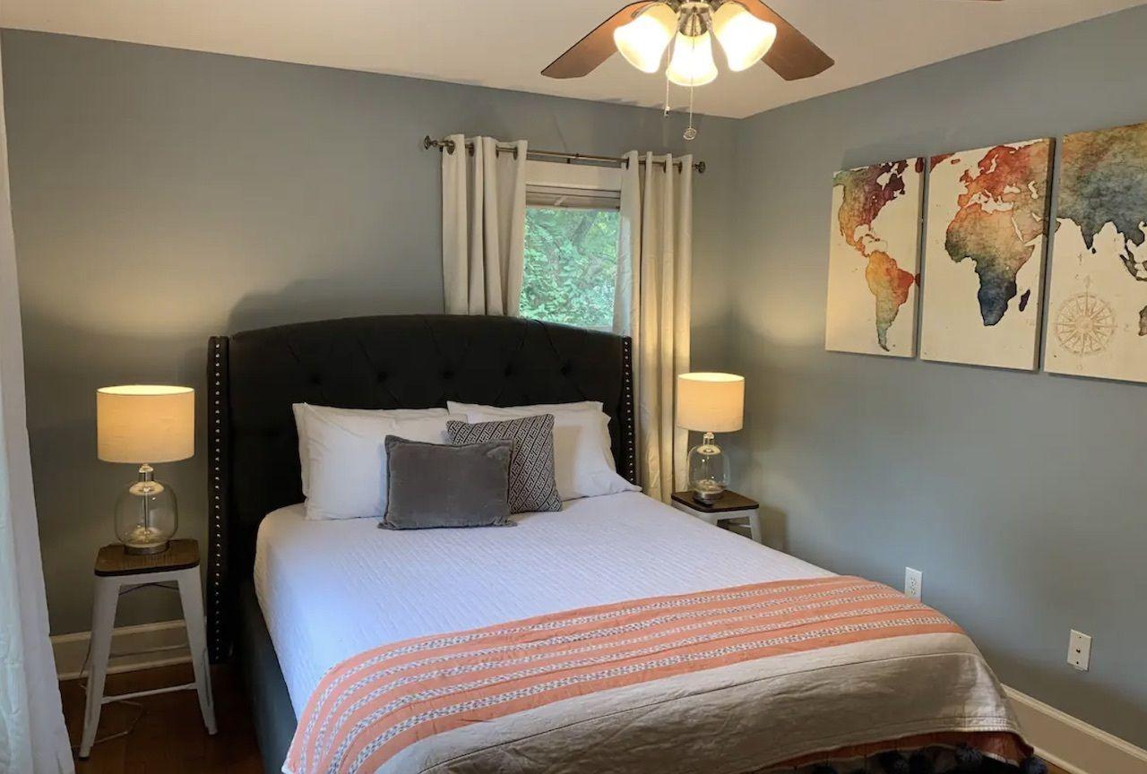 Cozy home near Murfreesboro Square, bonnaroo airbnbs
