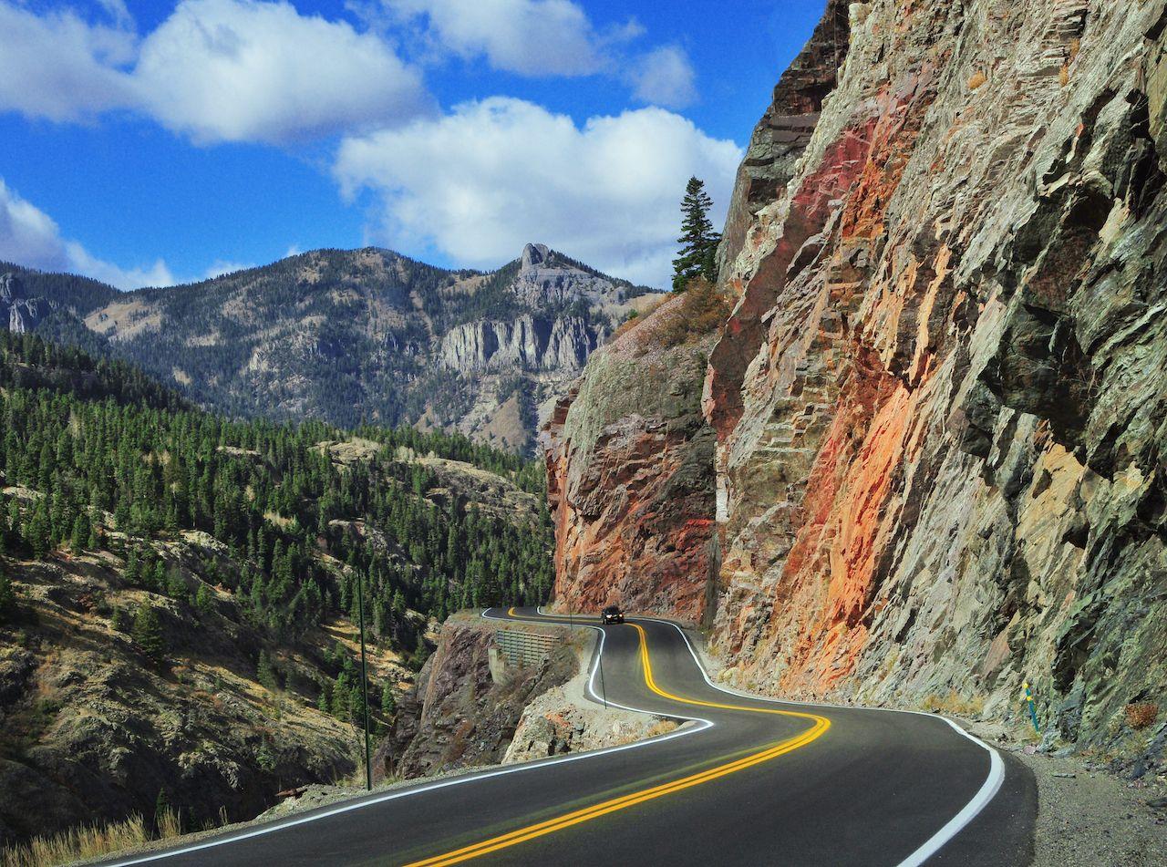 Spectacular,Colorado,Mountain,Road