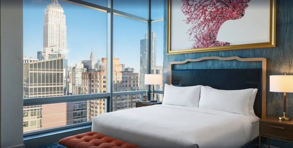 renaissance new york chelsea nyc hotels with skyline views