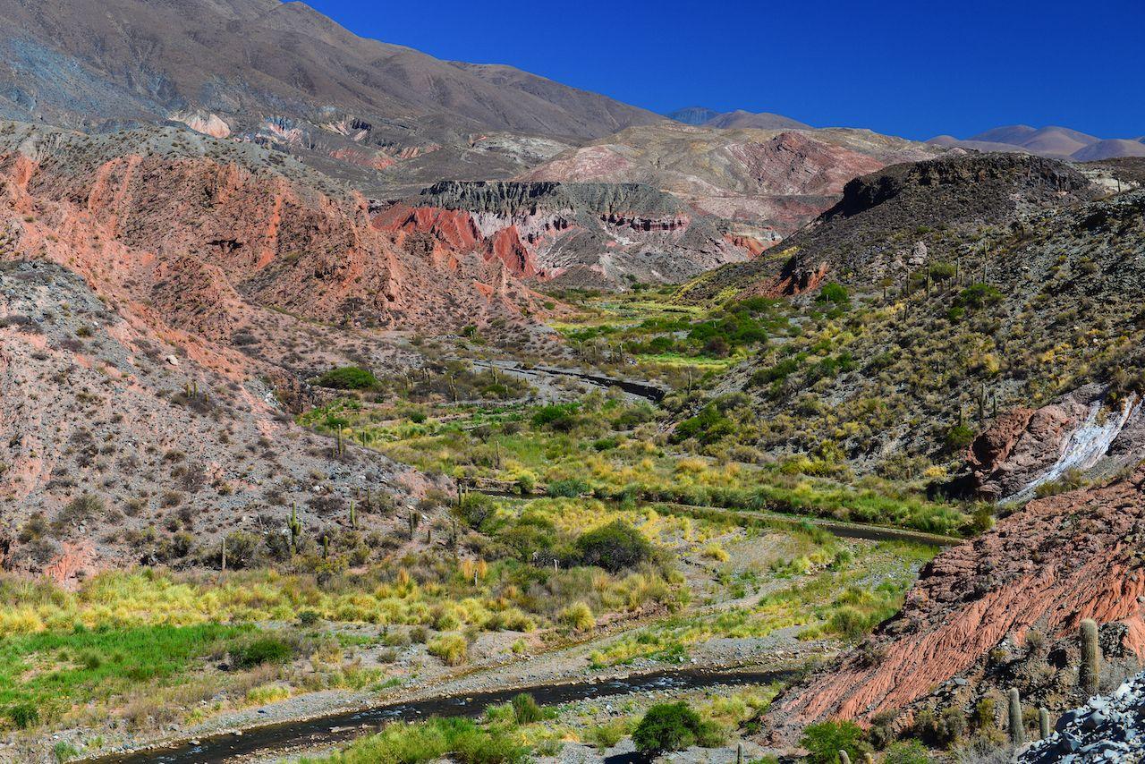 Colorful,Andean,Landscape,Near,The,Village,Of,La,Poma,,On