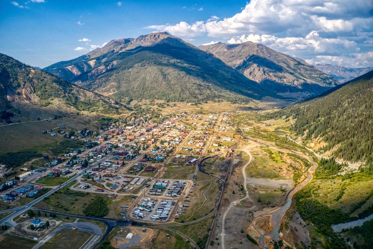Silverton,Is,A,Tourist,Destination,High,In,The,Colorado,Rocky