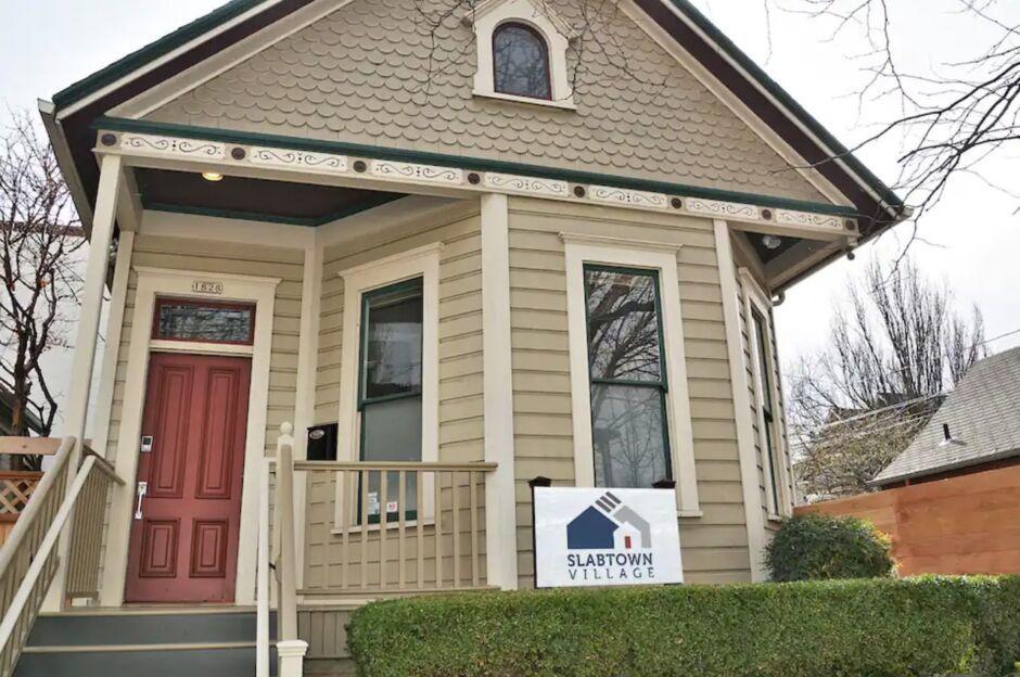 Slabtown home Portland