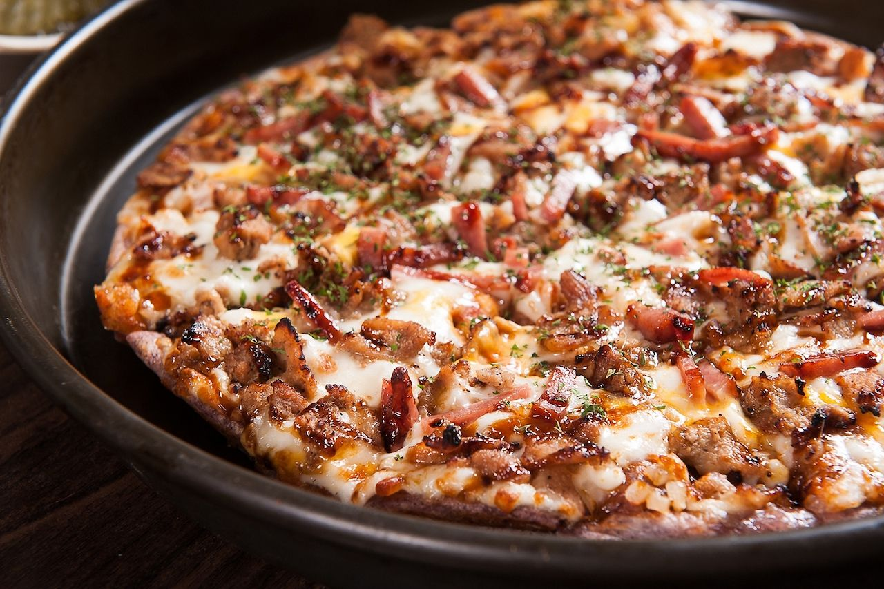 bulgogi south korean pizza