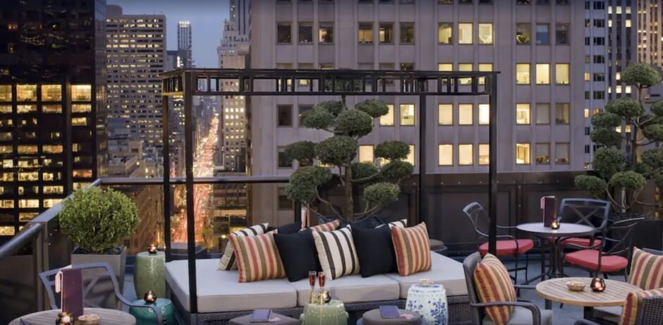 the peninsula nyc hotels with skyline views