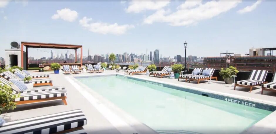 the williamsburg hotel nyc hotels with skyline views