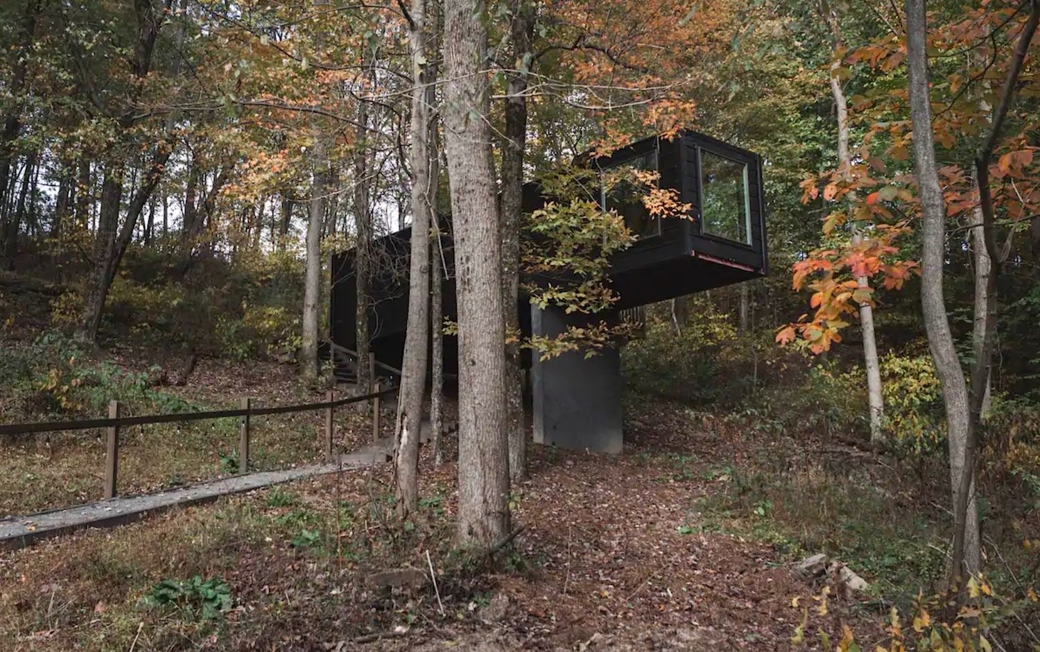 treehouse-village-box-Ohio-most-wishlisted-midwest-airbnbs
