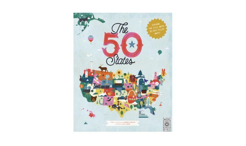 50 states map best travel journals