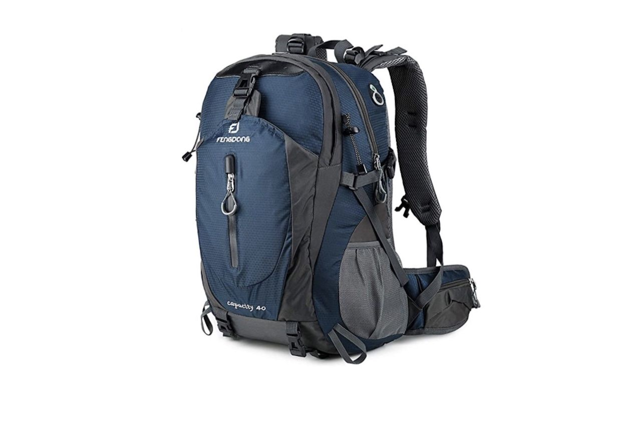 Amazon Labor Day Sale Fengdong 40L Waterproof Lightweight Backpack