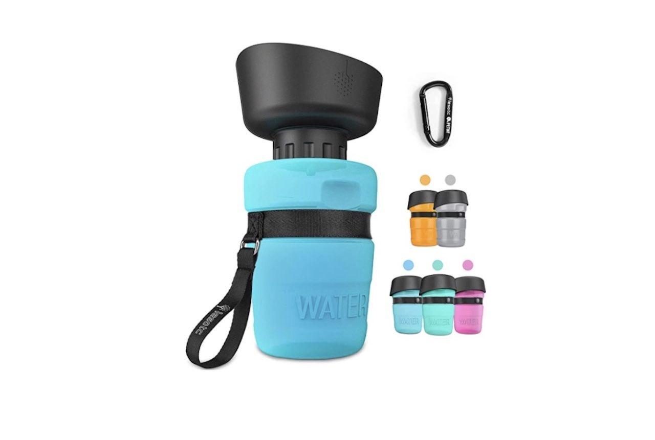 Amazon Labor Day Sale Lesotc Pet Water Bottle Dogs