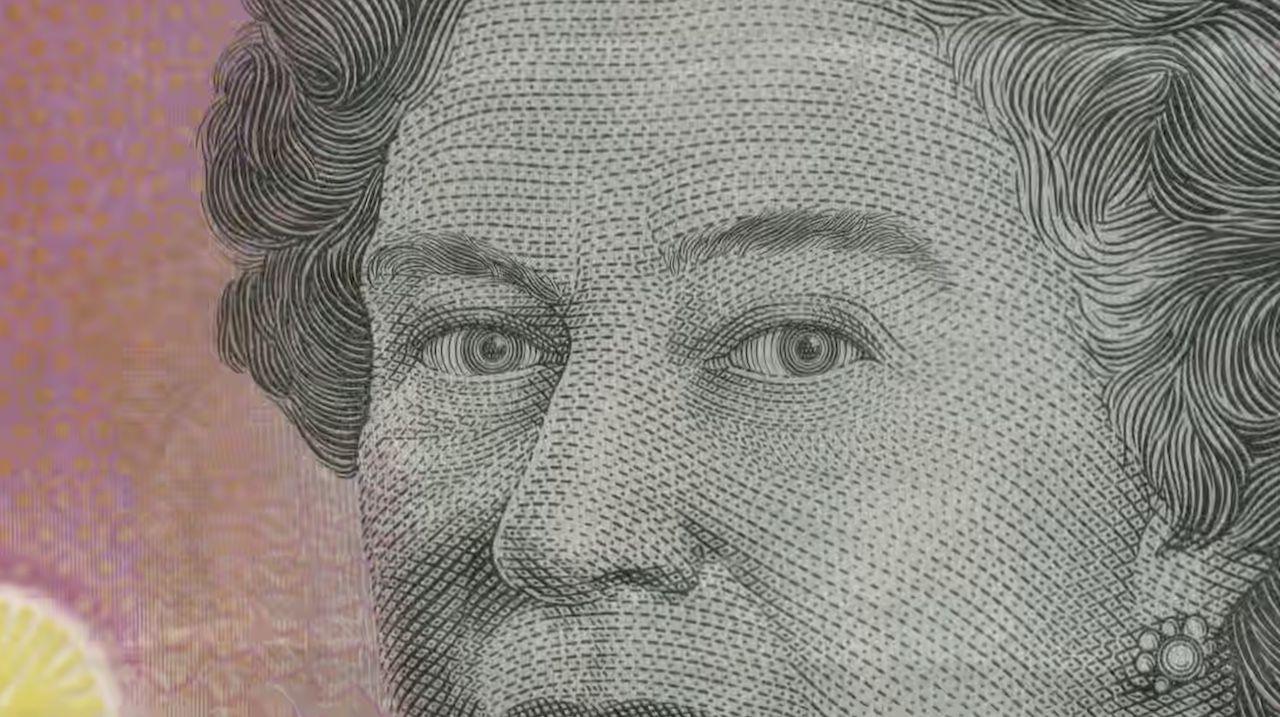 Queen Elizabeth II on banknote