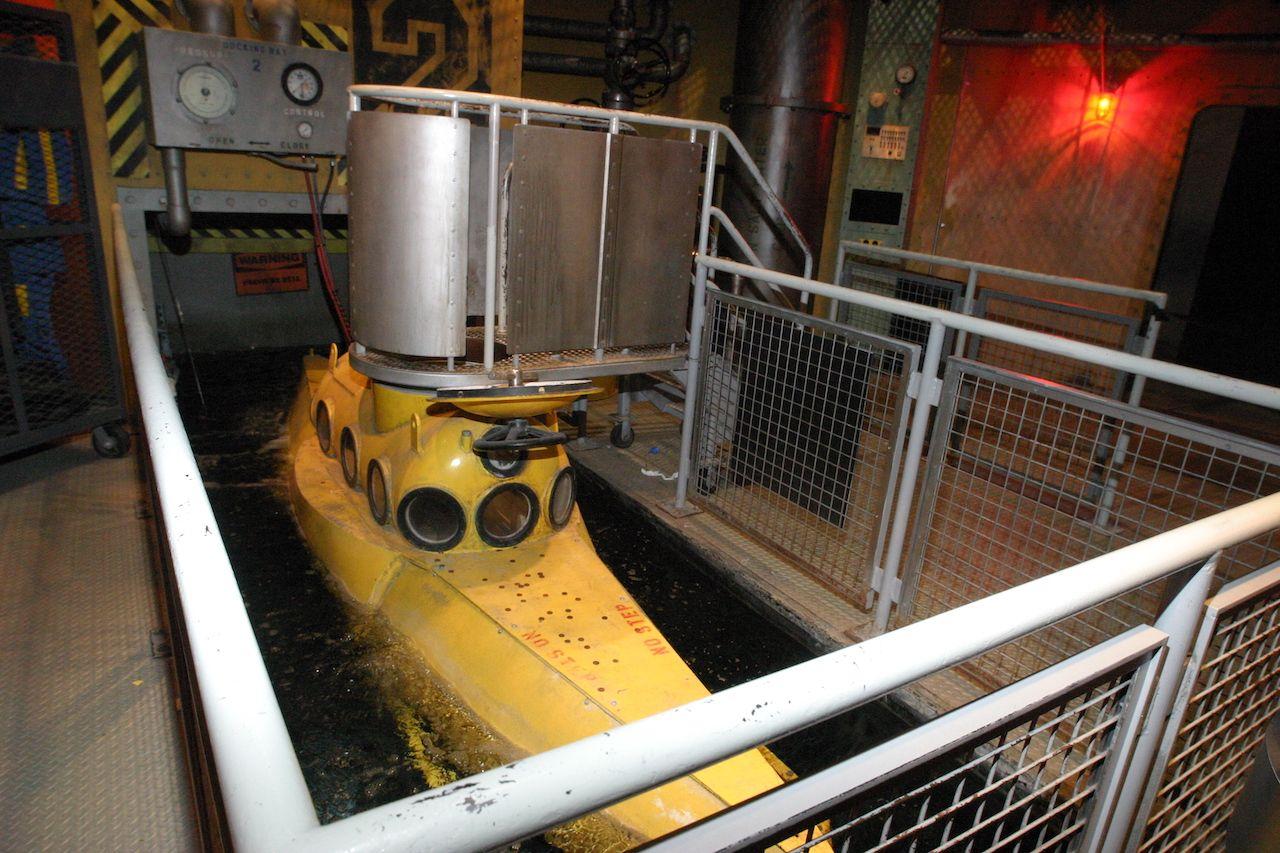 Mini submarine at COSI in Columbus Ohio