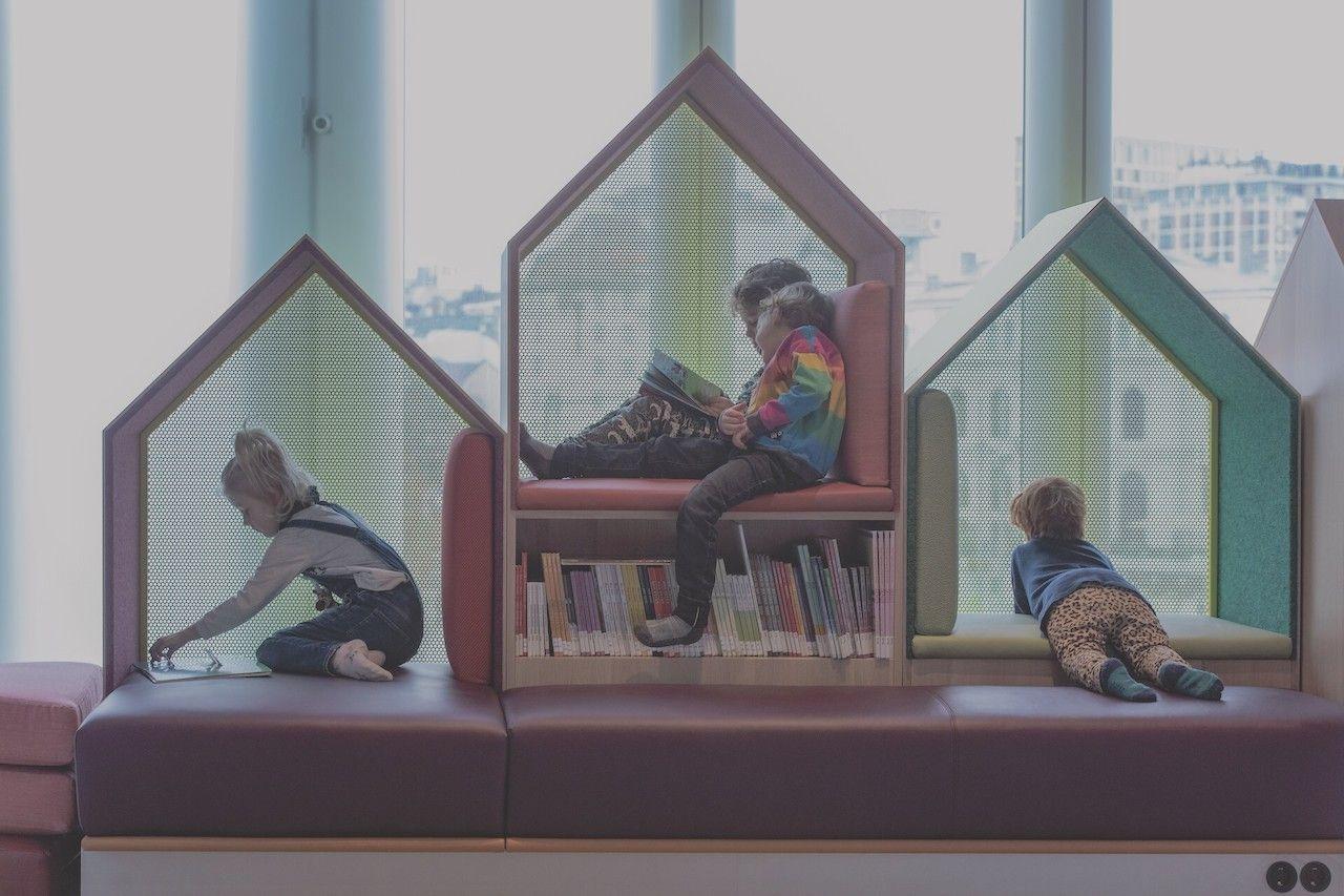 Children area in Deichman Bjørvik, the best library in the world in 2021
