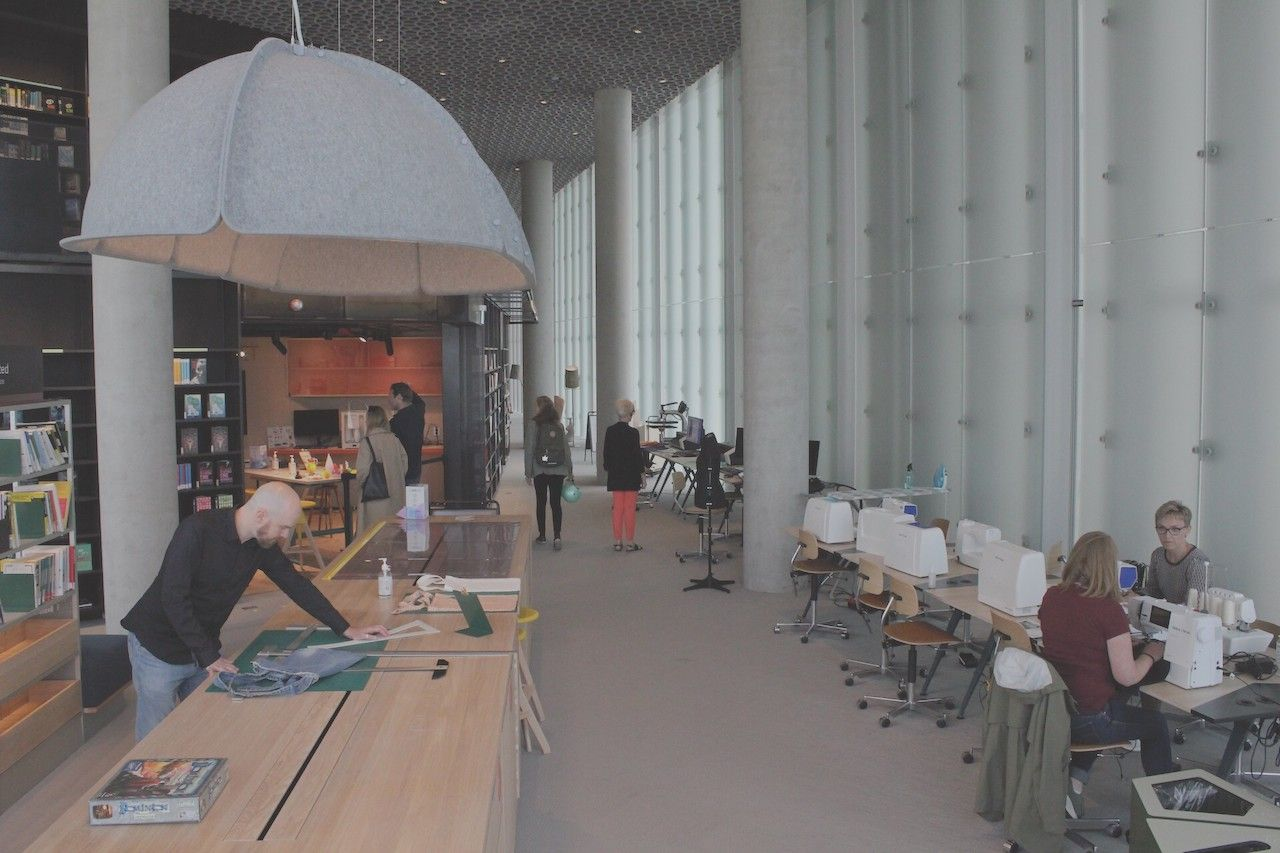 Services provided in Deichman Bjørvik, the best library in the world in 2021