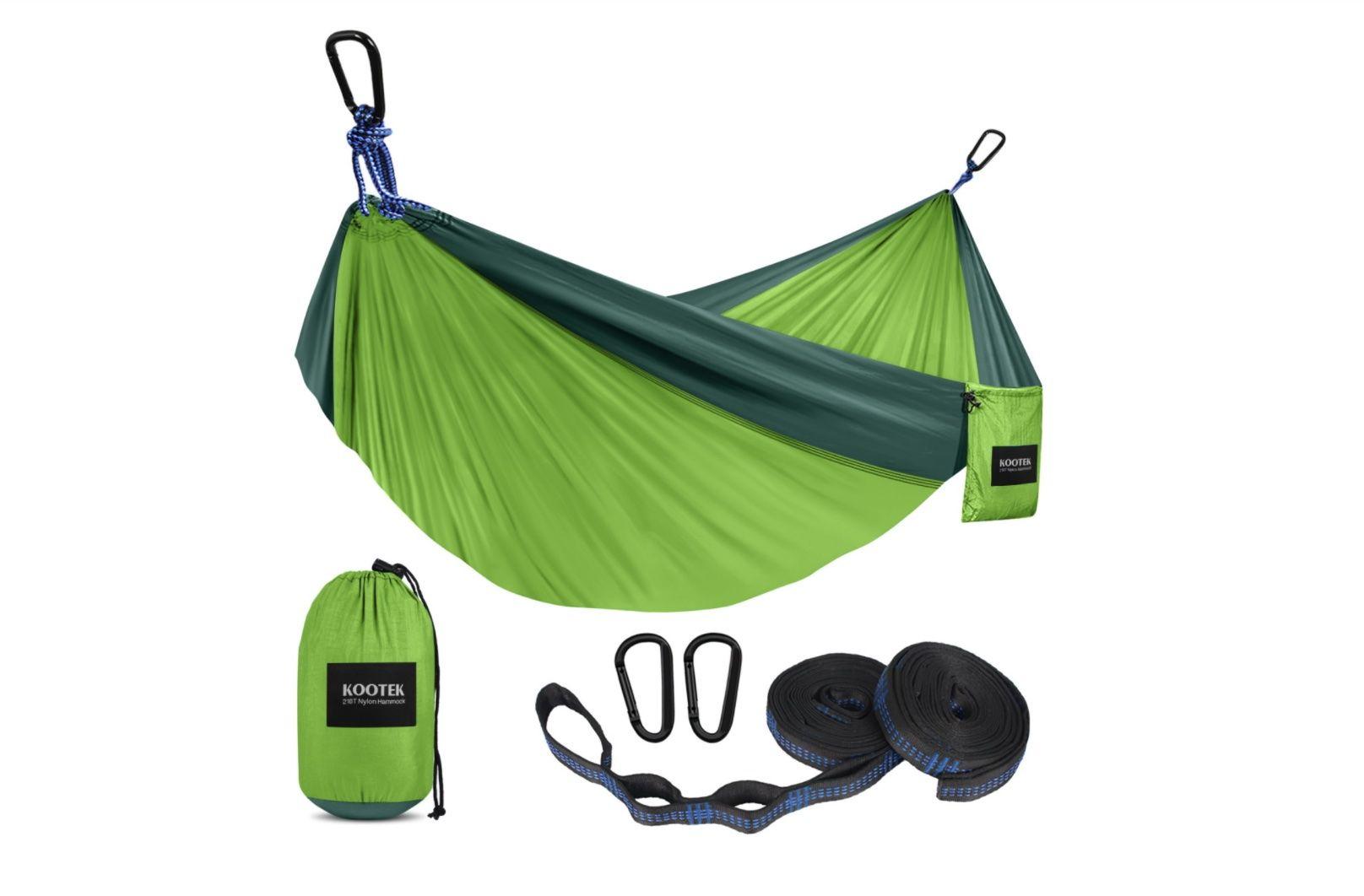 Fall camping gear Kootek Hammock