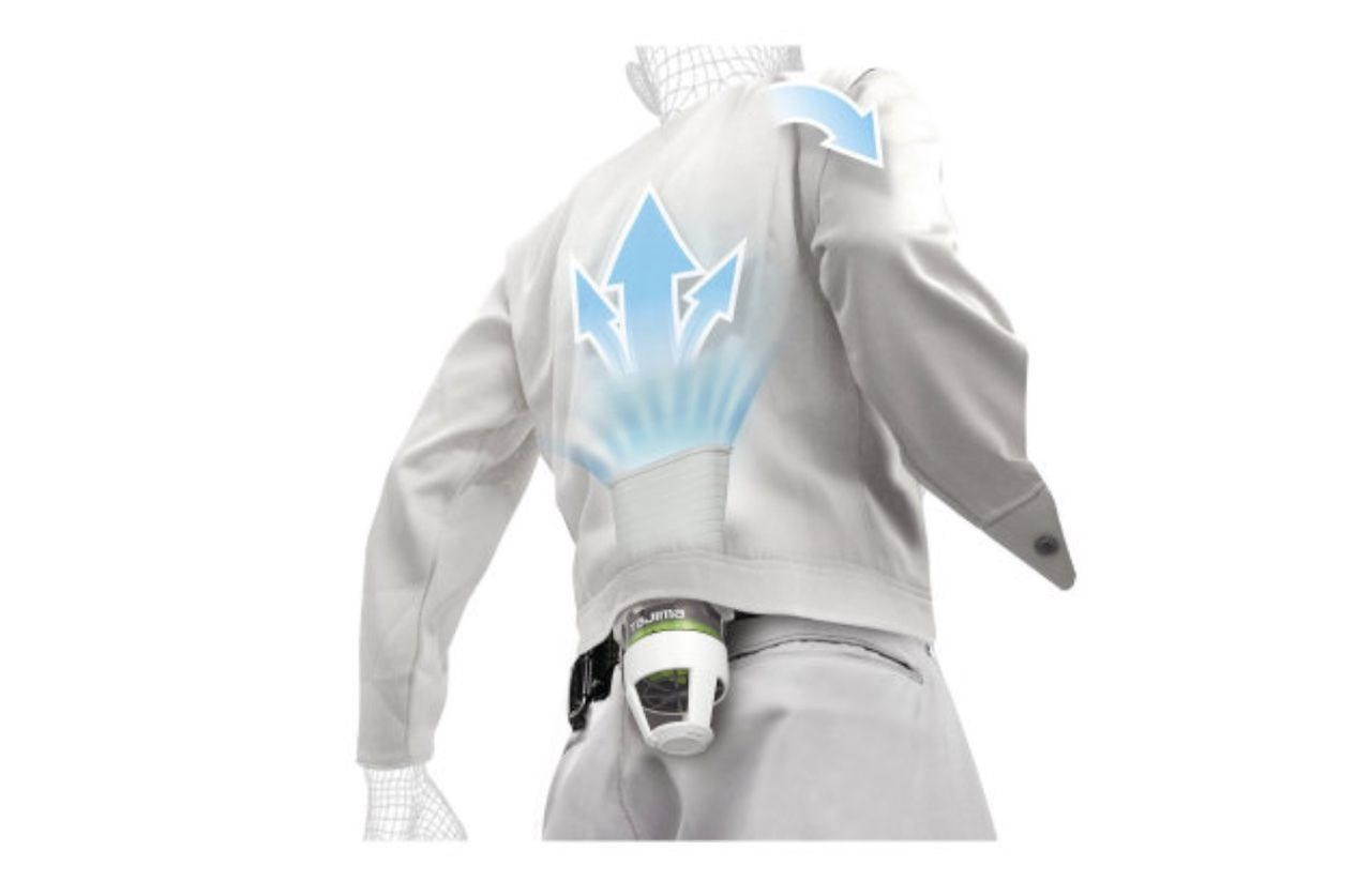 Japanese Inventions Air conditioning jacket TJM Design