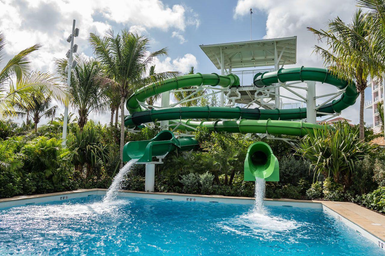 baha bay pirates plunge slides
