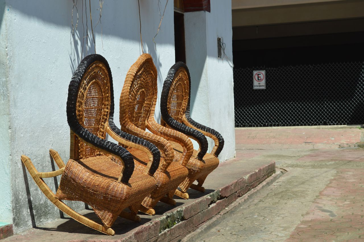 bejuco furniture in Mexico