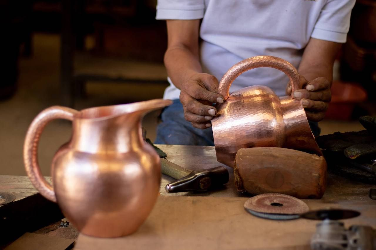 Cobre is Copper craft from Mexico