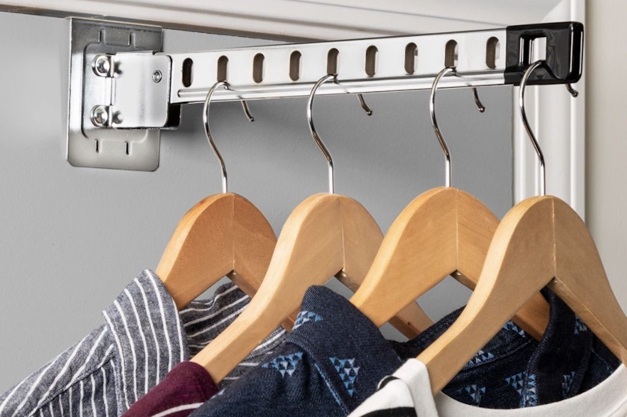 Space Saving Amazon Labor Day Sale Collapsible Hanger Holder