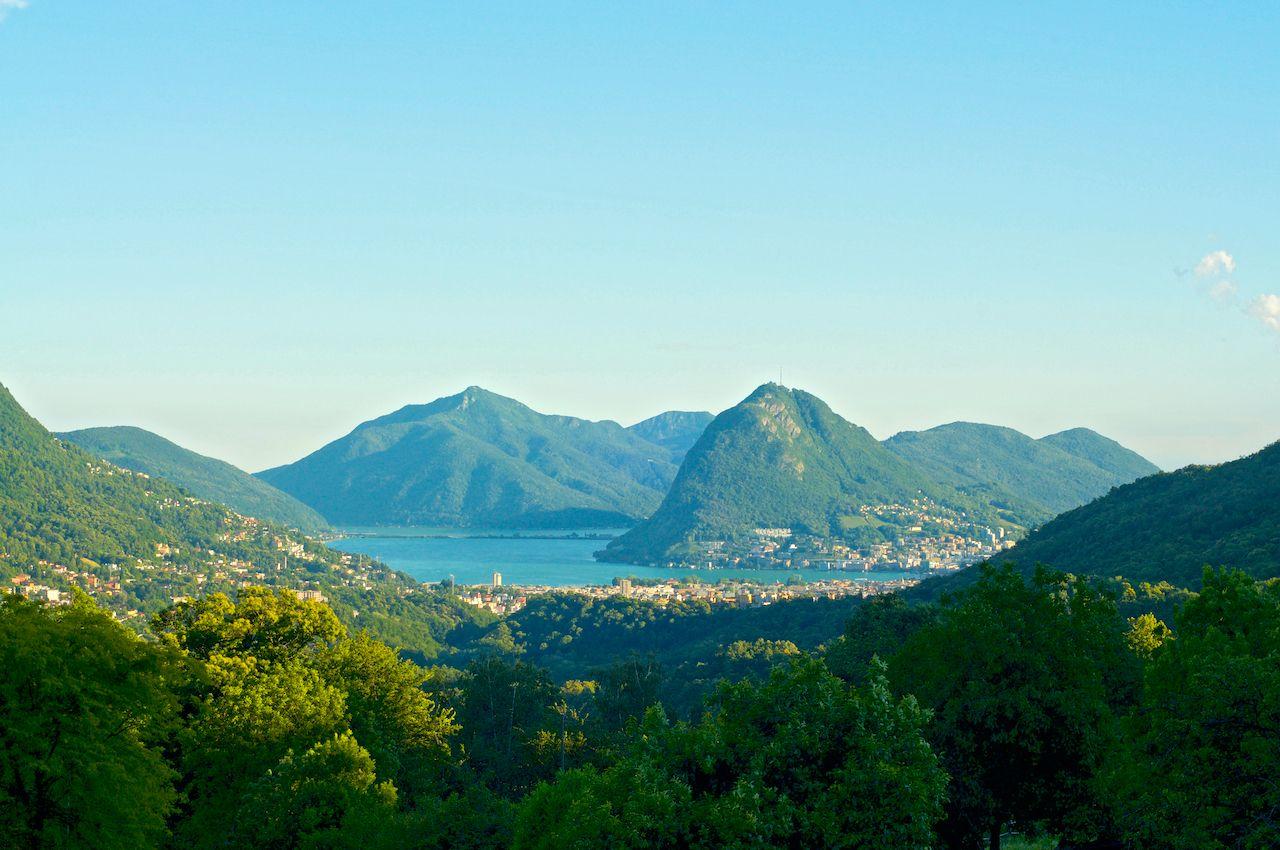 UNESCO-listed Monte San Giorgio in Switzerland