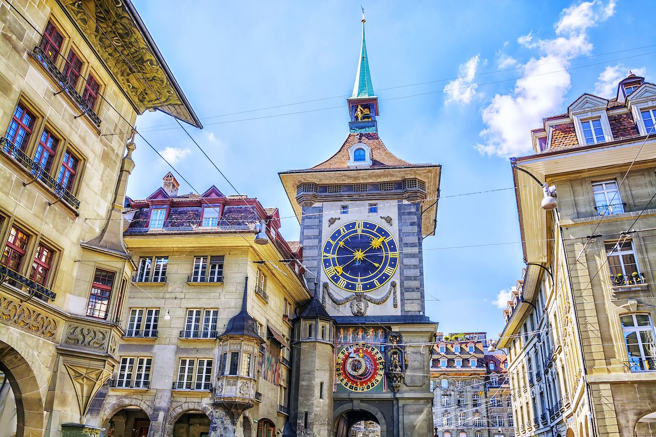 UNESCO-listed Old City of Bern in Switzerland