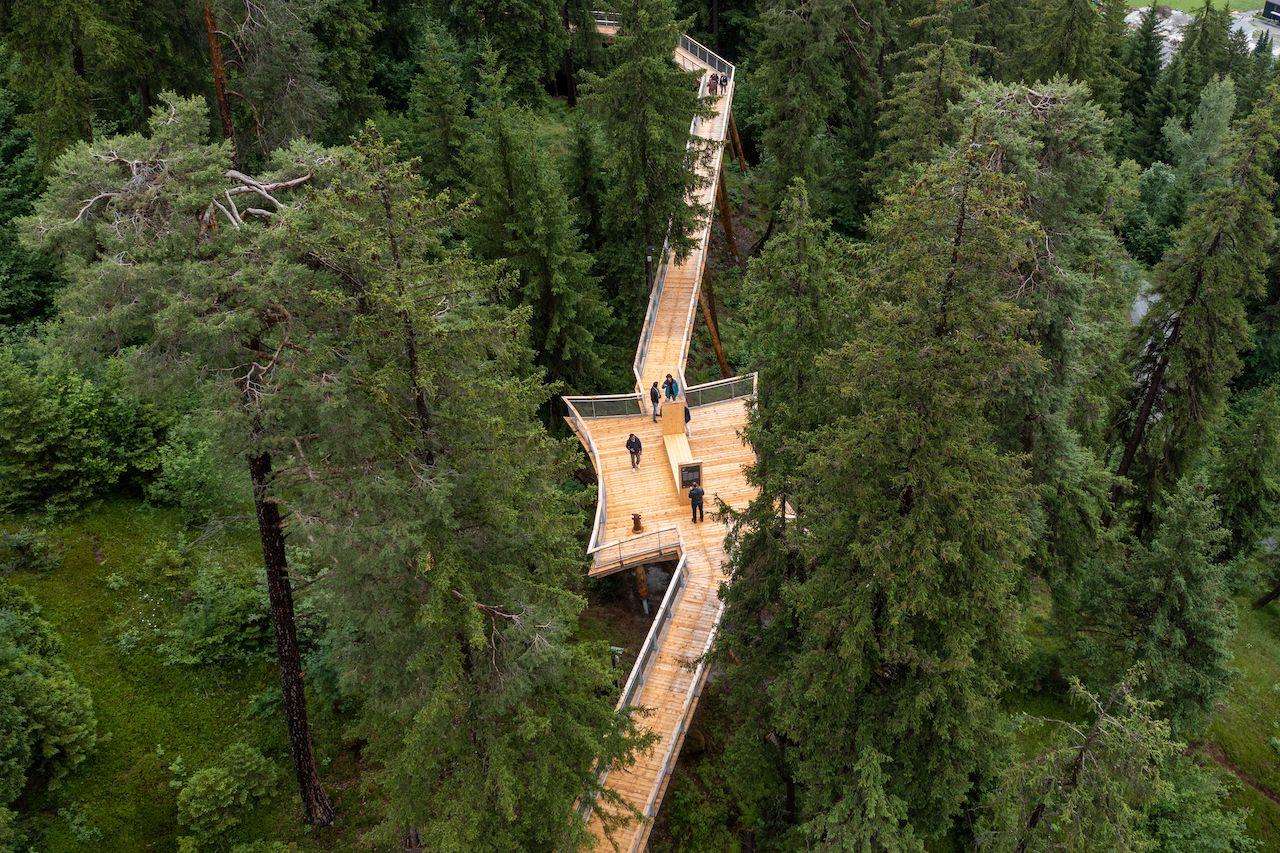 Photos: The world's longest treetop walkway is Switzerland's coolest new attraction