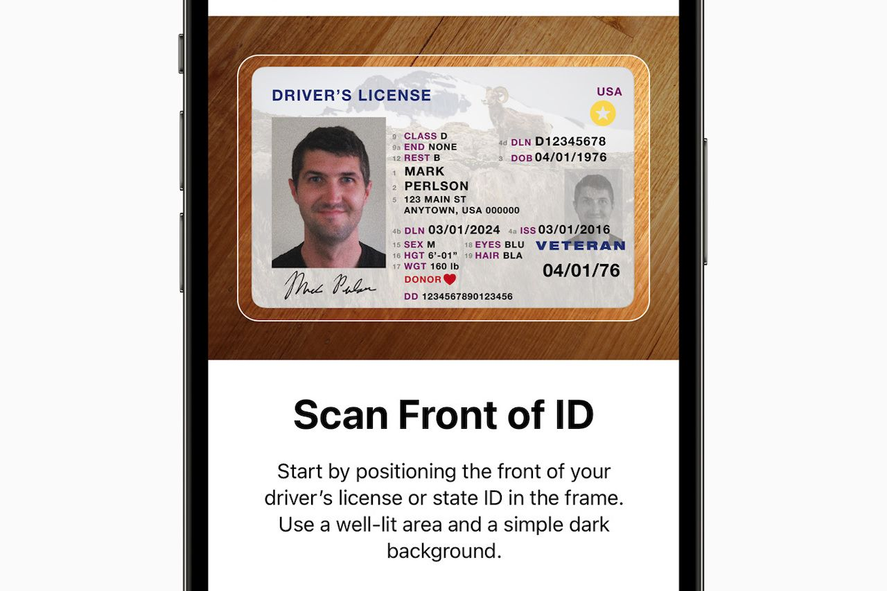You'll soon be able to use your iPhone for your ID at airport security
