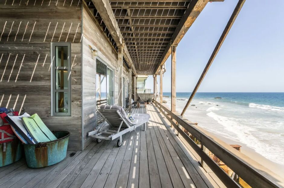 beachfront retreat california yoga retreat airbnbs