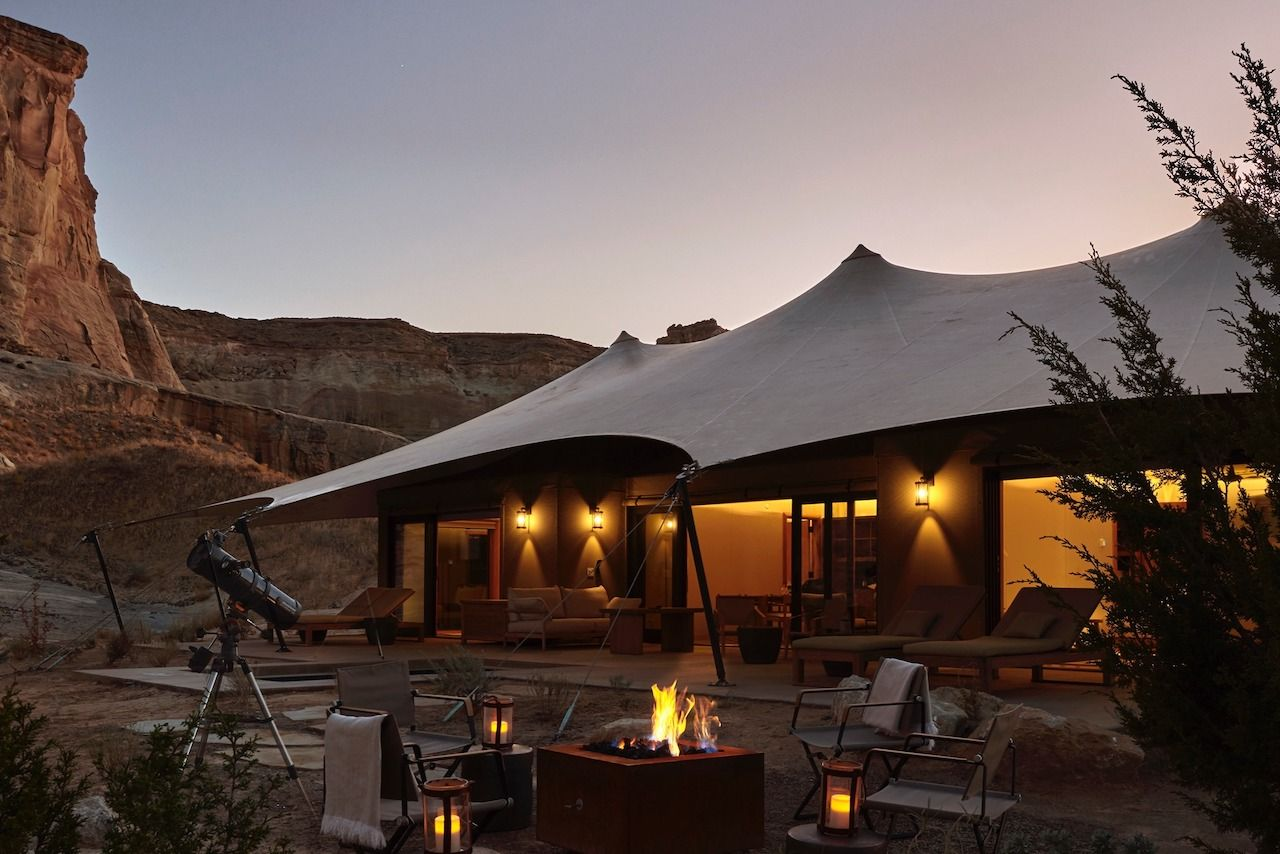 best stargazing places Aman Resorts