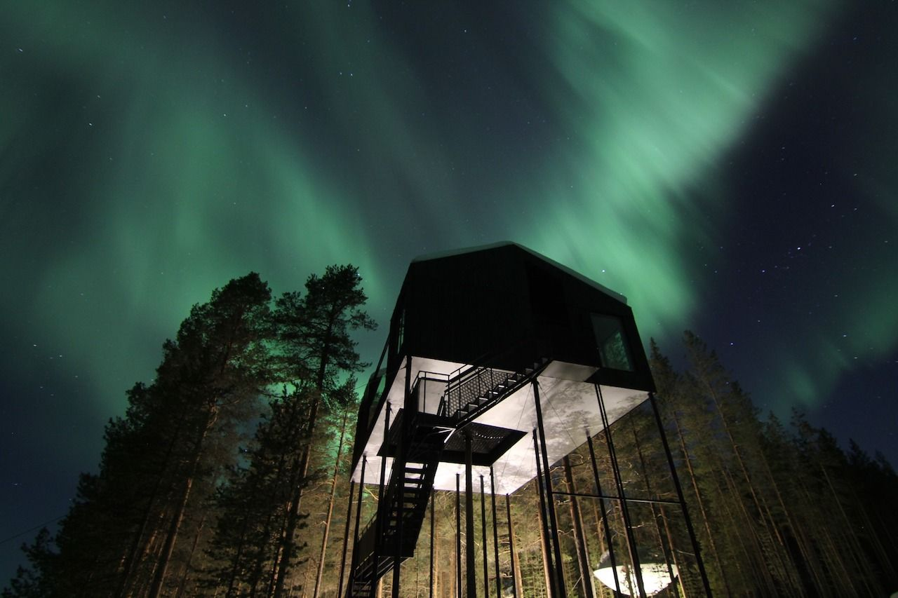 best stargazing places treehotel