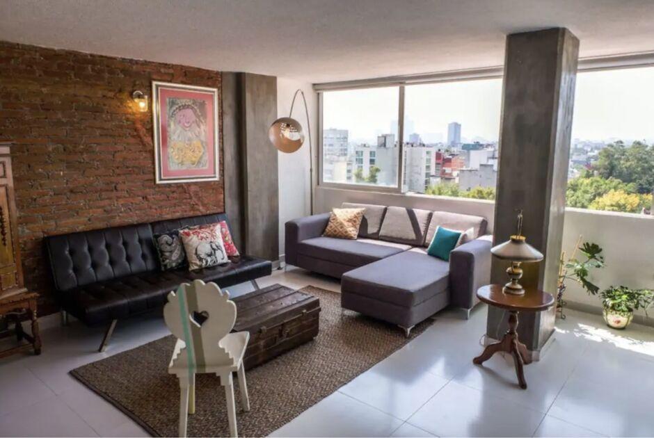 condesa family apartment best airbnbs for dia de los muertos