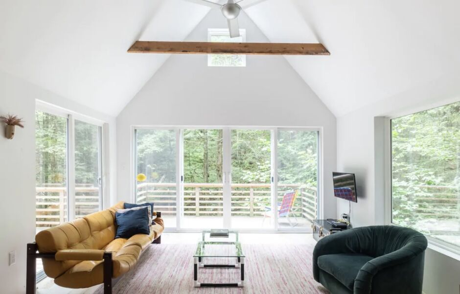 connecticut forest cabin remote new england airbnbs
