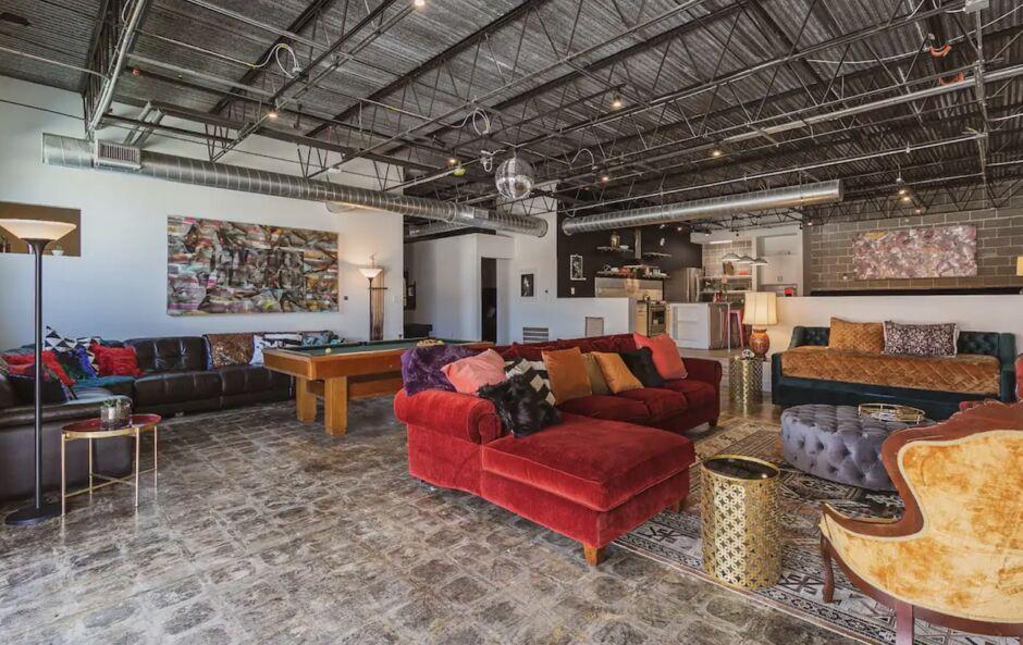 disco suite houston airbnbs
